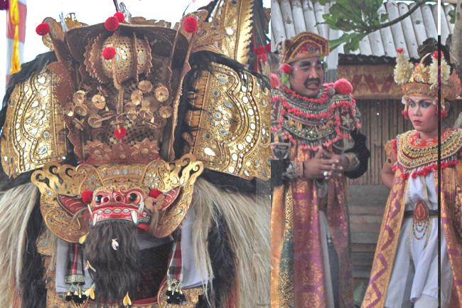 Bali Barong Dance Barongtanz Kultur Tanz