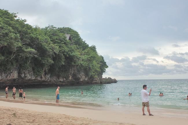 Bali Padang Padang Beach Surfing Ocean