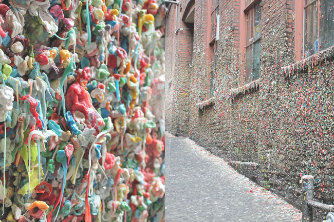 Seattle Washington USA Westküste Roadtrip Gumwall Gum Wall | pekingenten.com